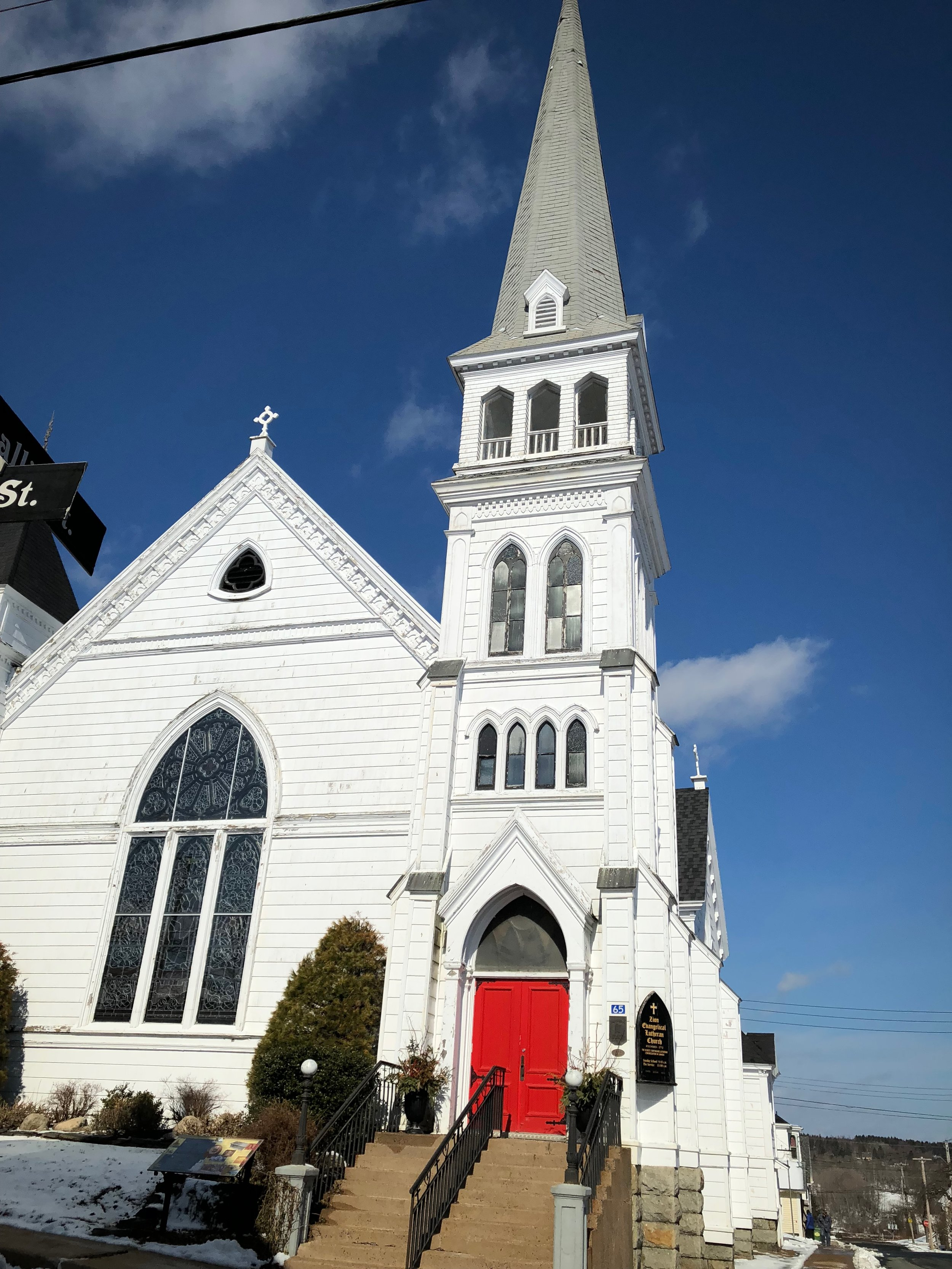 Oldest Lutheran church in Canada