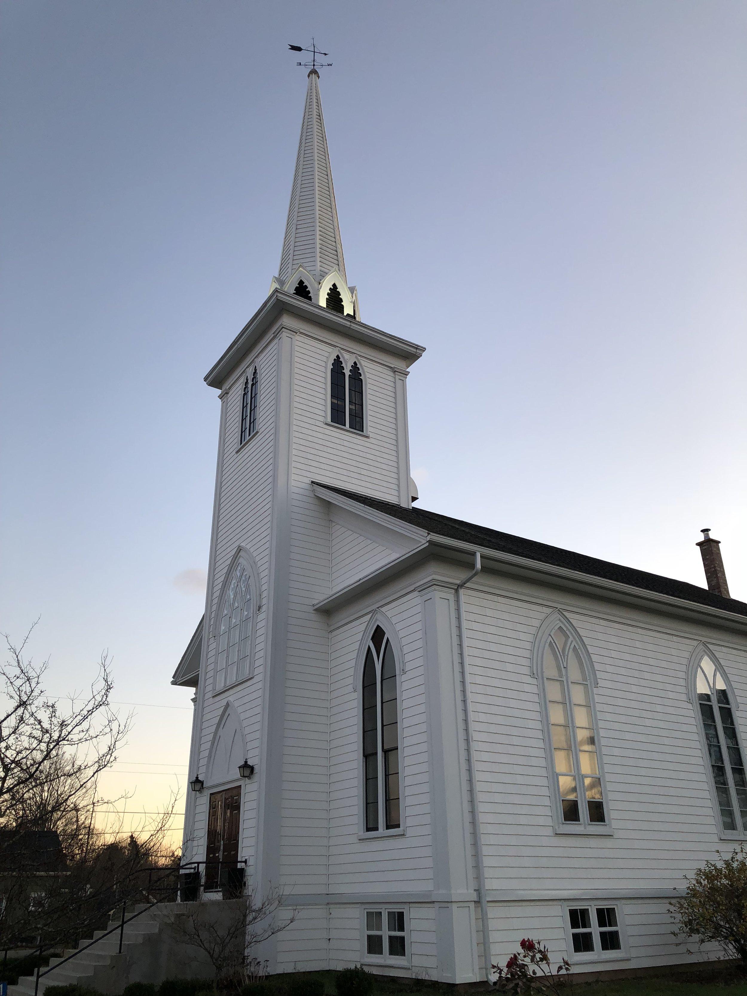 Port Williams United Baptist Church, Port Williams, Nova Scotia