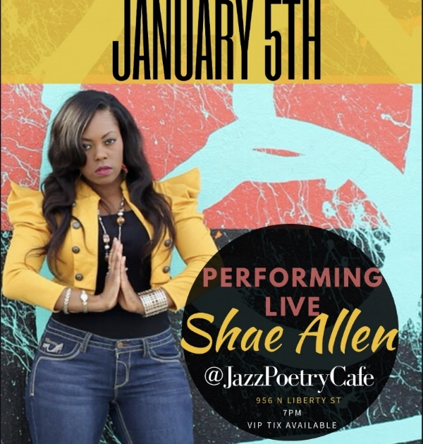 Shae Allen Live at Jazz Poetry Cafe  // January