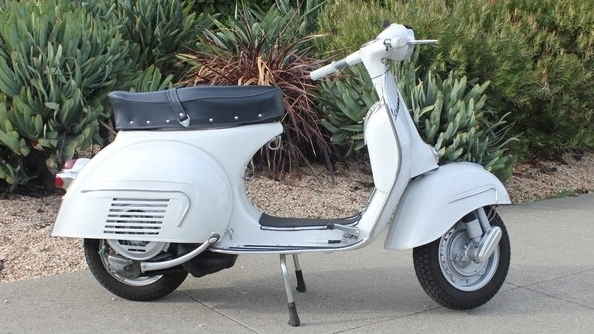 1963 VESPA GS SERIES 2 (IC-178) - When it first debuted, it was a clean break from the 1950s scooters that had preceded it.