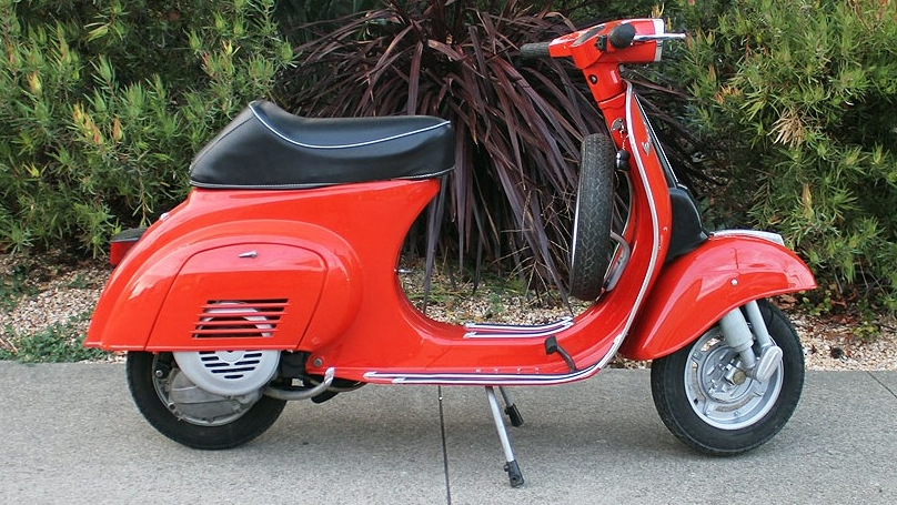 1970 VESPA 50 (IC-207) - Once, these were seemingly everywhere in Italy. You saw it by the thousands and could not get out of the way in time as swarms raced through the streets of Rome: this scooter was the first taste of freedom for all teenagers.