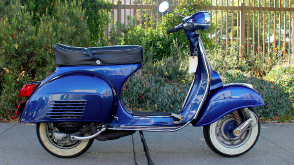 1975 VESPA RALLY 200 (BM-232) - This is the last of the truly