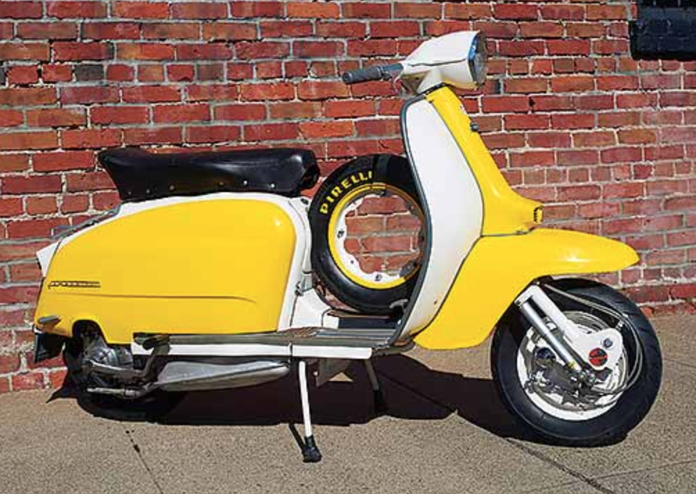Stylish Simplicity: 1964 Lambretta TV 175 Model III - Motorcycle Classics