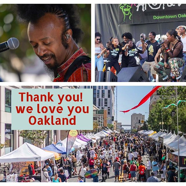 Thank you for another magical weekend #Oakland! We love celebrating your energy, your beauty, and are honored to uplift your spirits year after year! What was your favorite #artandsouloakland moment of 2019? #eastbay #music #festival #oaktown #hellaoakland #community