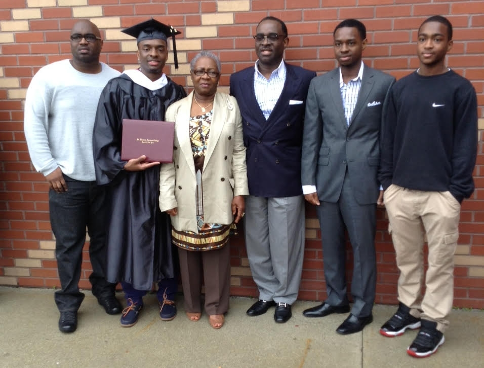 Sam Wilson...Bridgeport CT. Graduation from St.Thomas Aquinas College..jpg