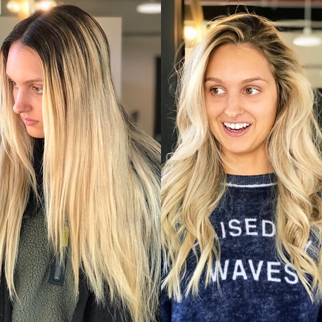 WOW. Look at this transformstion by @chelseabulte | color & style by @chelseabulte . . .  #hairstylist #modernsalon  #beautylaunchpad  #americansalon #behindthechair #hairnerds #hairbrained #maneaddicts #saloncentric #beautylaunchpad #licensedtocreate #refinery29 #citiesbesthairstylist #hairoftheday  #goodhairdays #lorealhair #ibizahairtools #lahairstylist