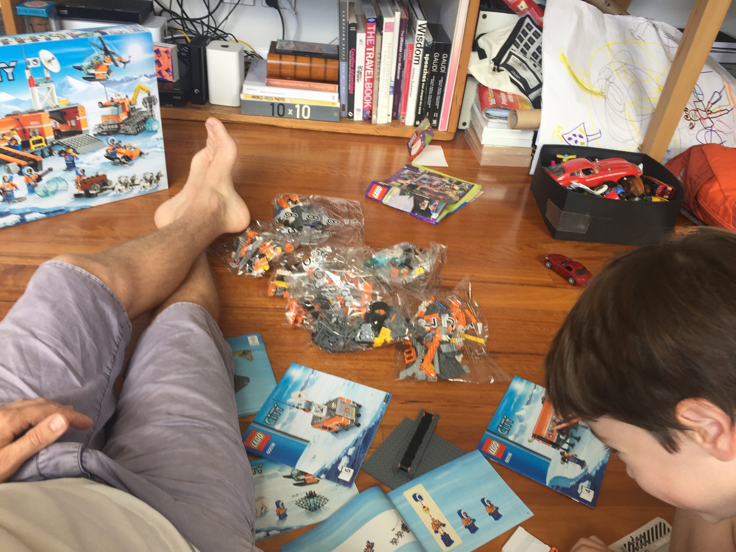 Lost in Lego