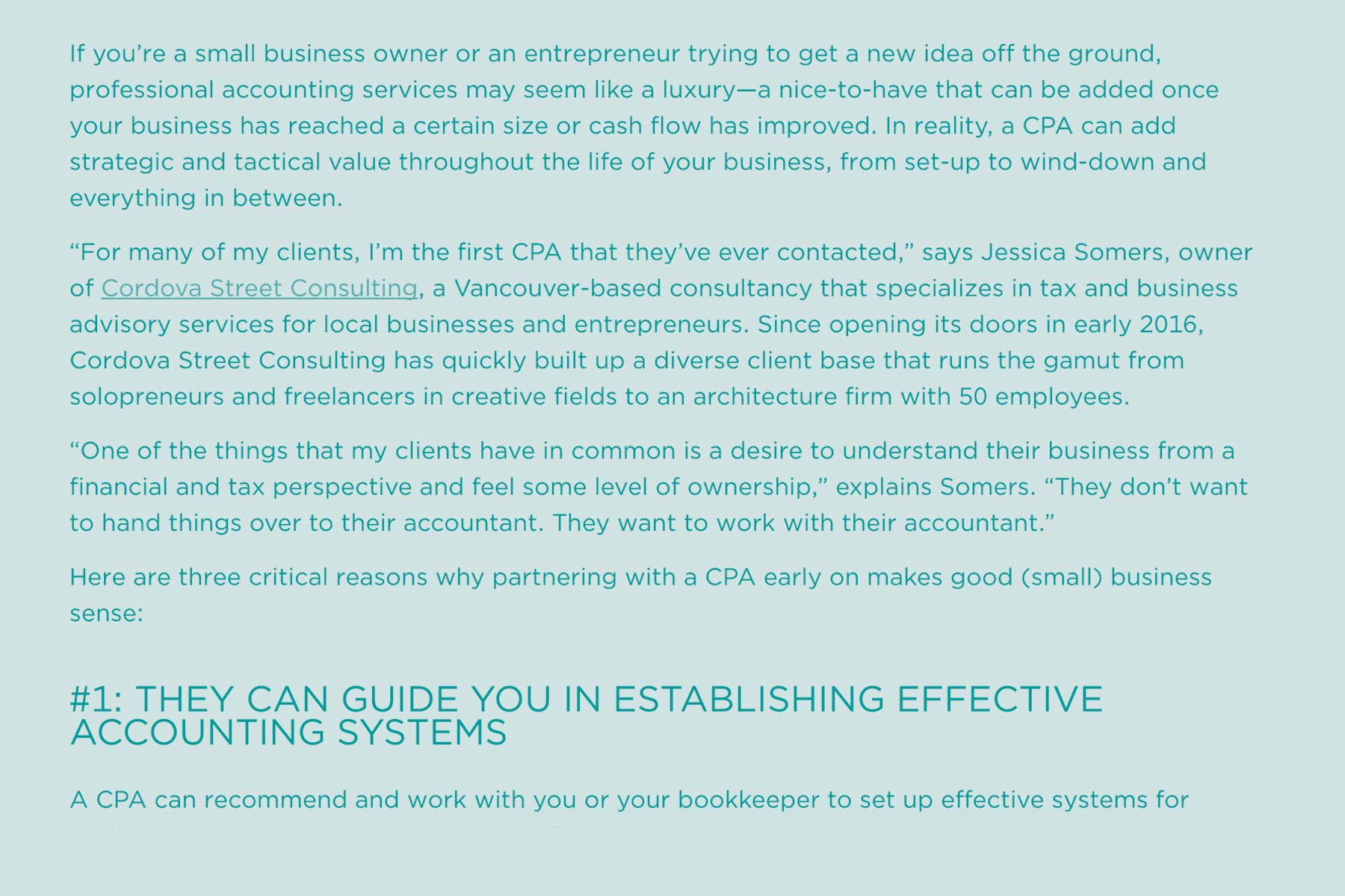 What small businesses miss when they do their own accounting -