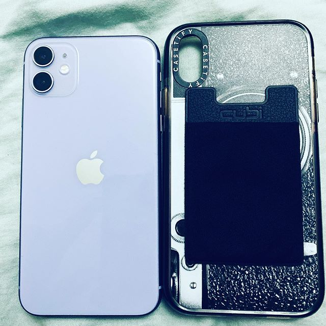 Okay.... so my #casetify #phonecase for #iPhonexr Fits almost perfectly for the @iPhone11 .... #lavender