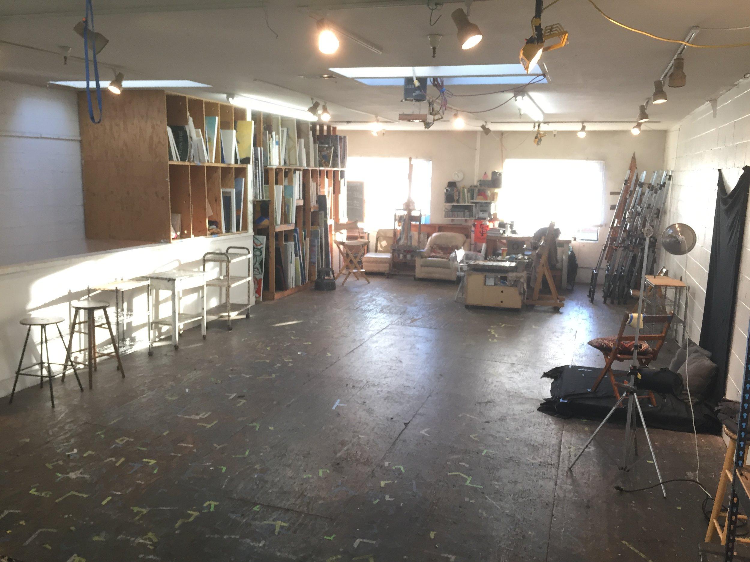 Studio Space for Rent -