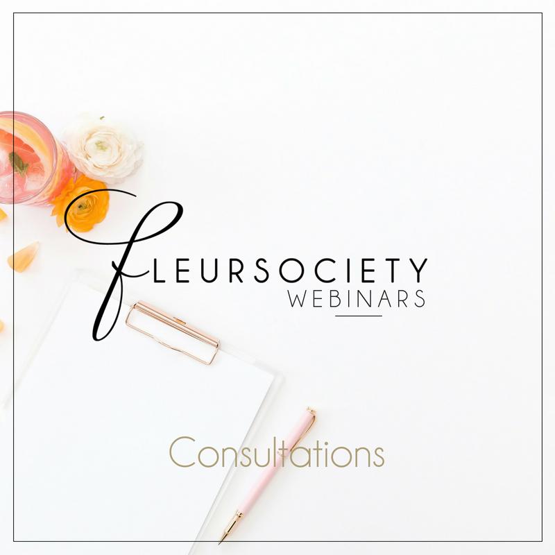 Fleursociety Consultations Webinar