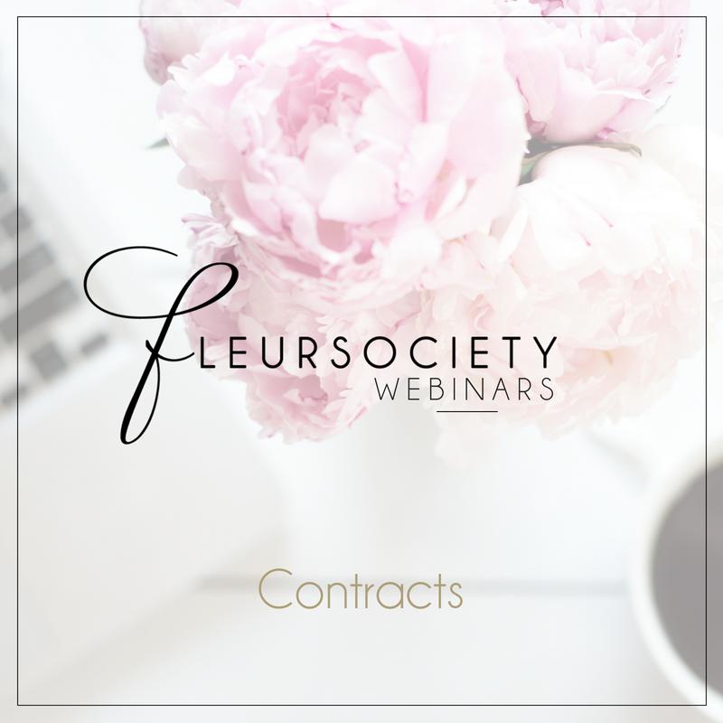 Fleursociety Contract Webinar