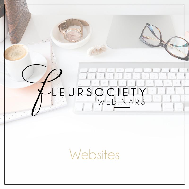 Fleursociety Webinars Websites