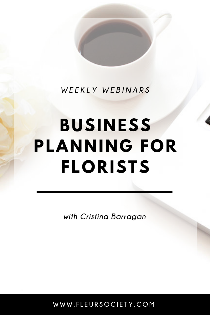 Fleursociety Business Planning