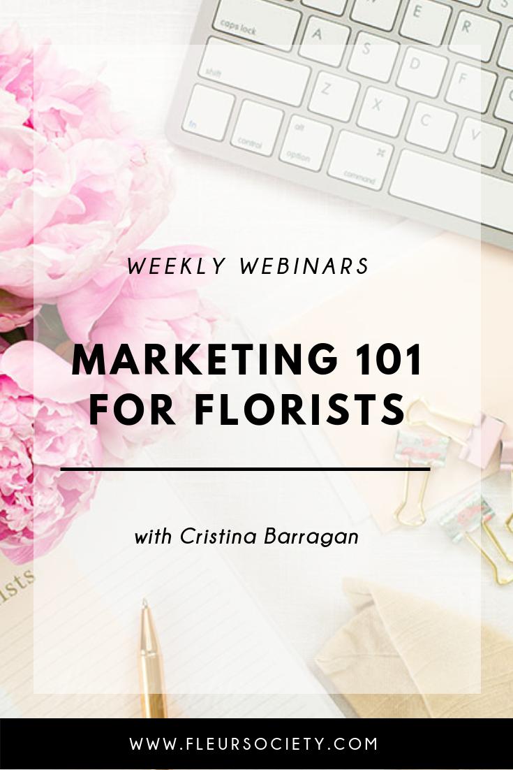 Fleursociety Marketing 101