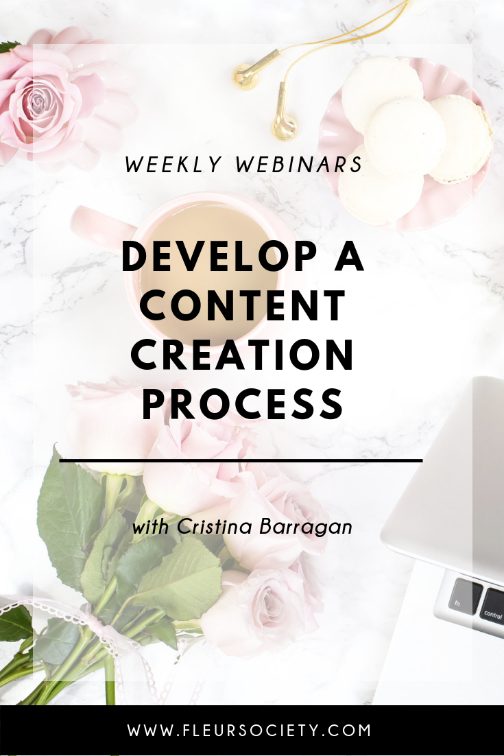 Fleursociety Creating Content