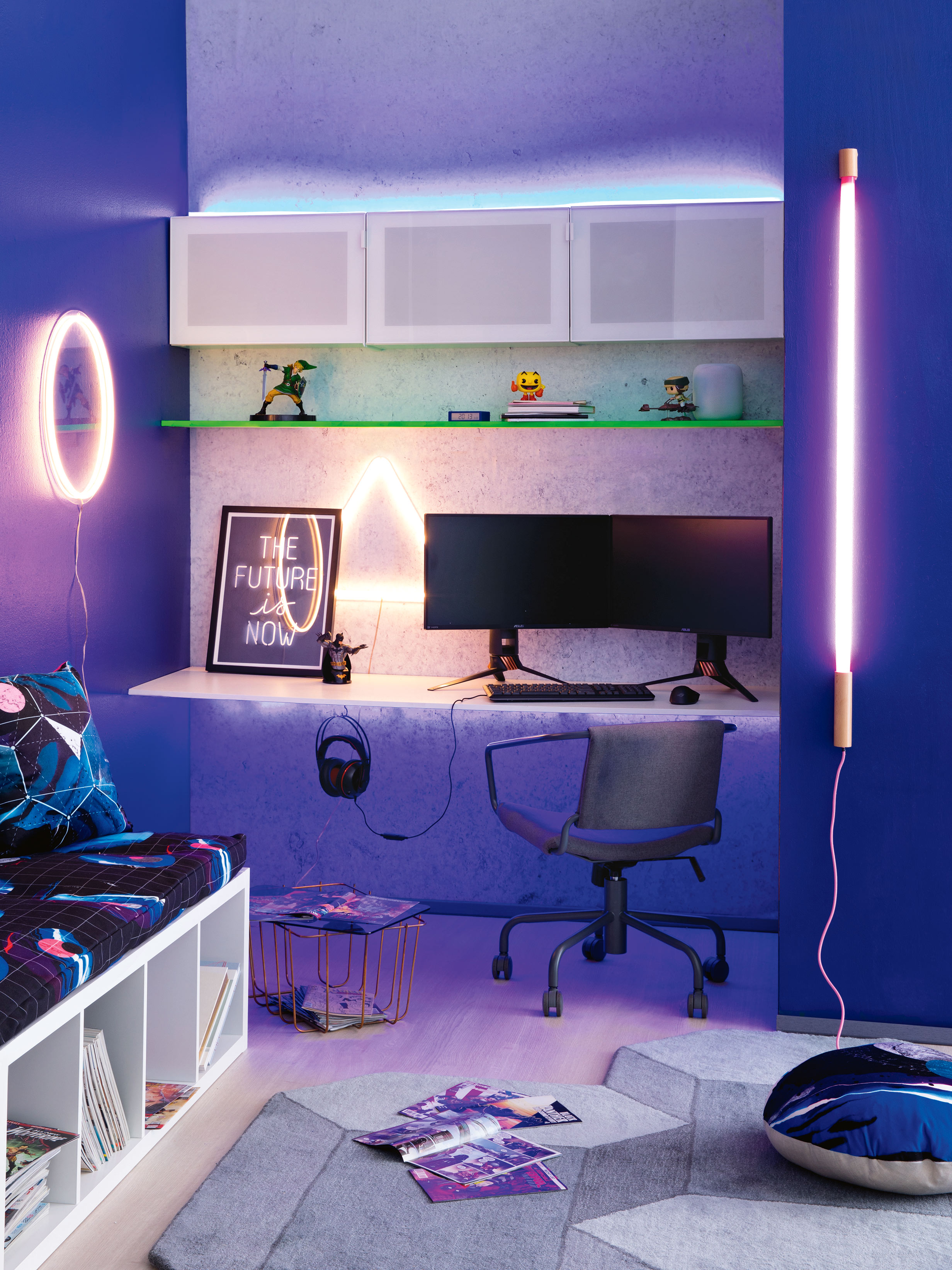'Gamer's Retreat' photography by Sam McAdam Cooper