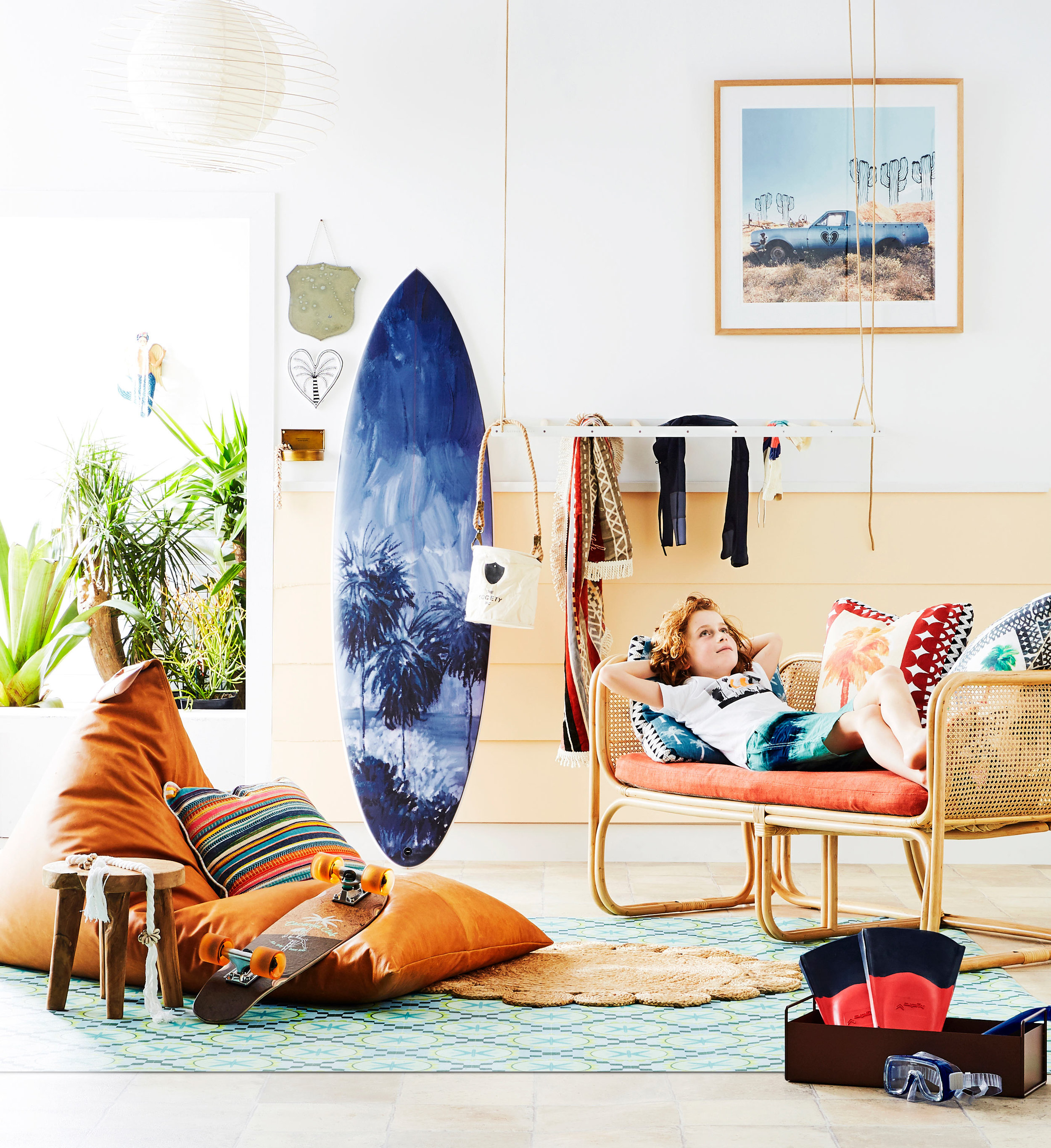 'Surfer's Den' photography by Nic Gossage