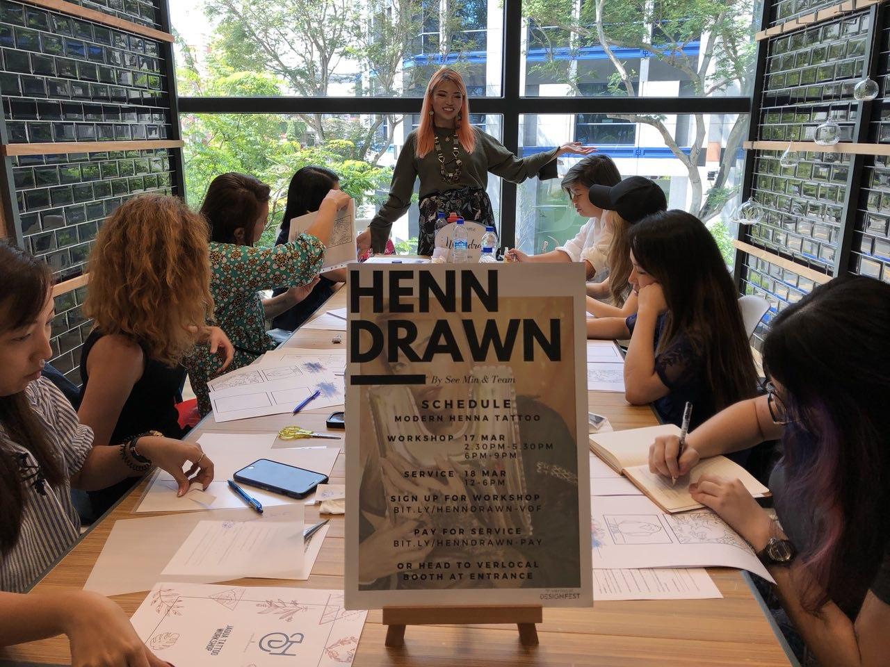 Learn the art of Jagua - from Singapore's pioneer Jagua Body Artist herself