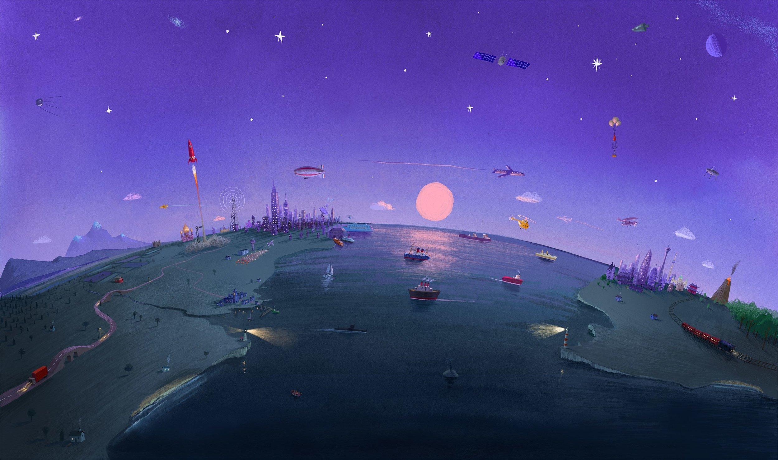 Ilustración de Oliver Jeffers.