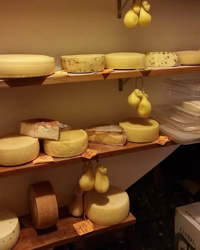Meanwhile, in the cheese cave...