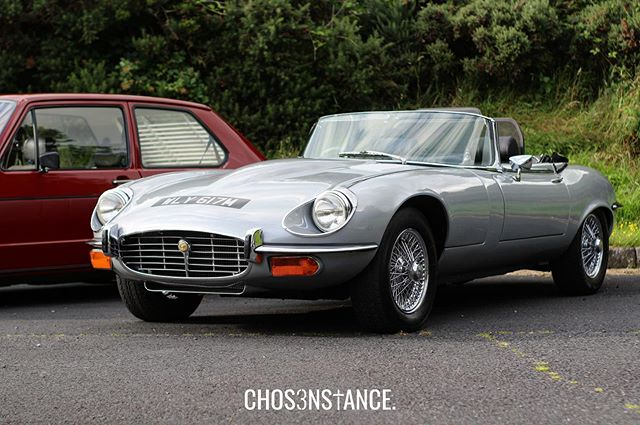 Lovely example of a classic Jag 🐆 - #ChosenStance #carsandcoffee #banbridge #carshow #carscene #carshowseason #jaguar #etypejaguar #etype #jaguaretype #classicjaguar #jaglife #classiccars #carsceneuk #carsceneni #carculture #classiccarsdaily #carlifestyle #classiccaroftheday #carcultureuk #carloversfamily #ukcars #irishcarscene #oldcars #jaguarxke #stancenation #autos_of_our_world #classicmotor #classicbritishcars