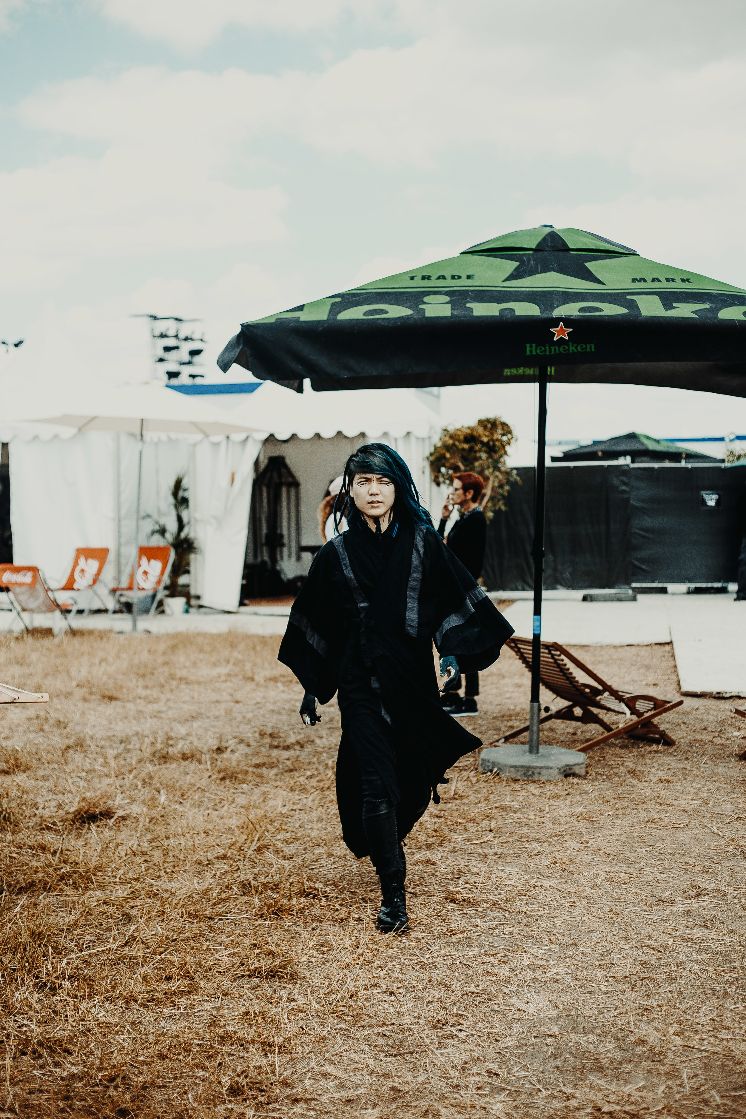 Hiro backstage at Download Festival