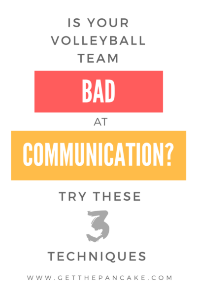 How to Improve Volleyball Communication