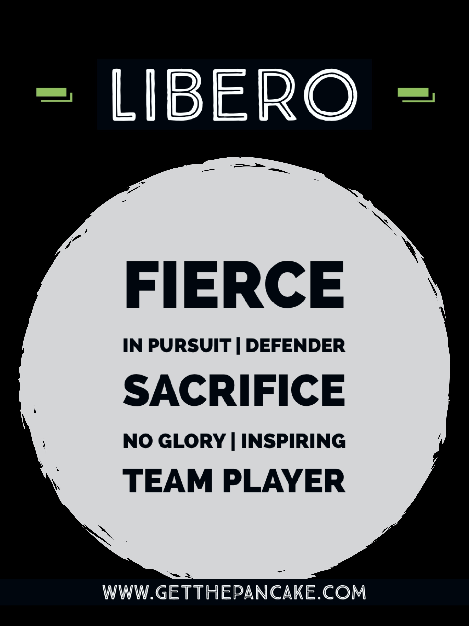 Volleyball Libero Description
