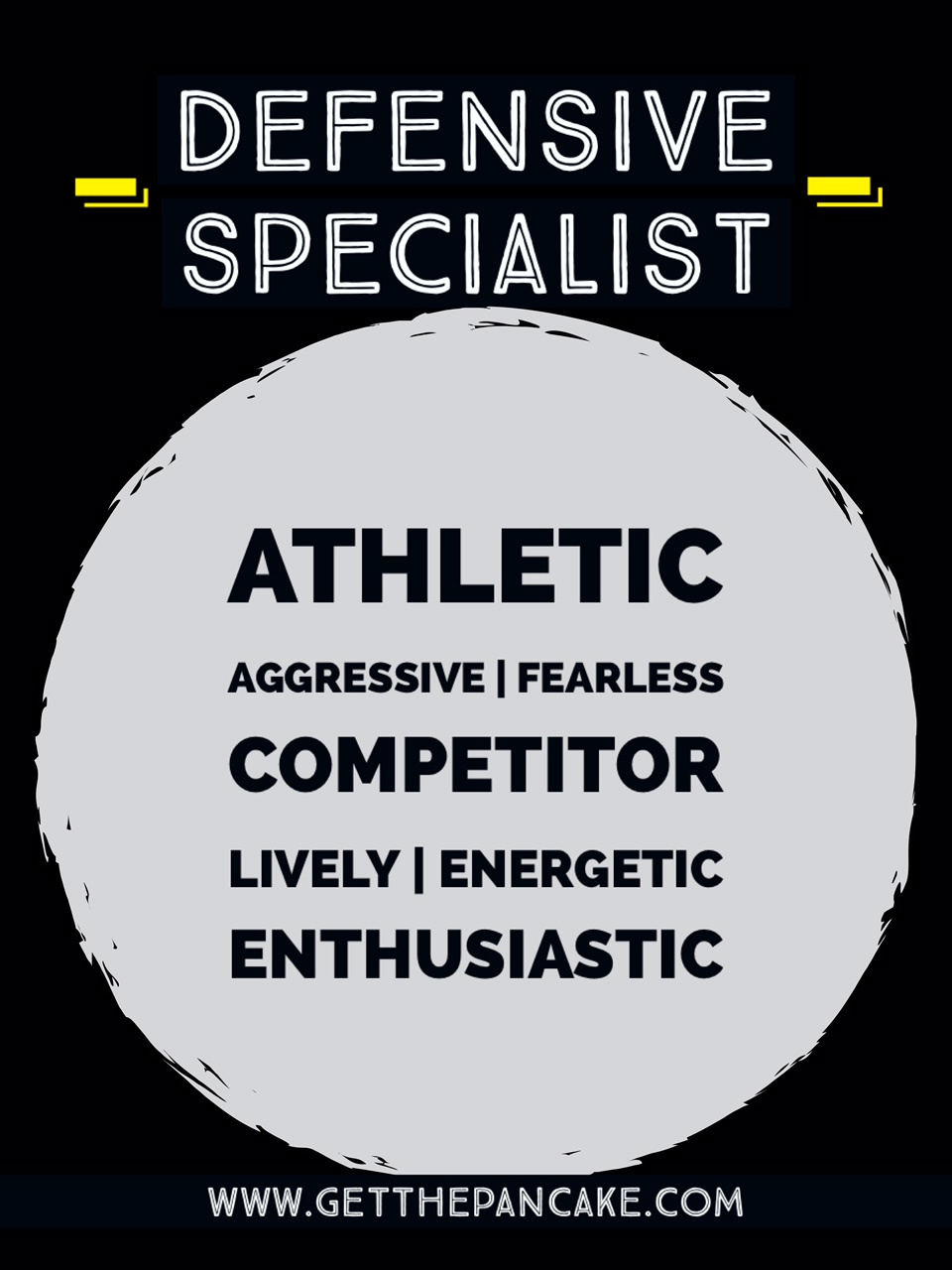 Volleyball Defensive Specialist Description
