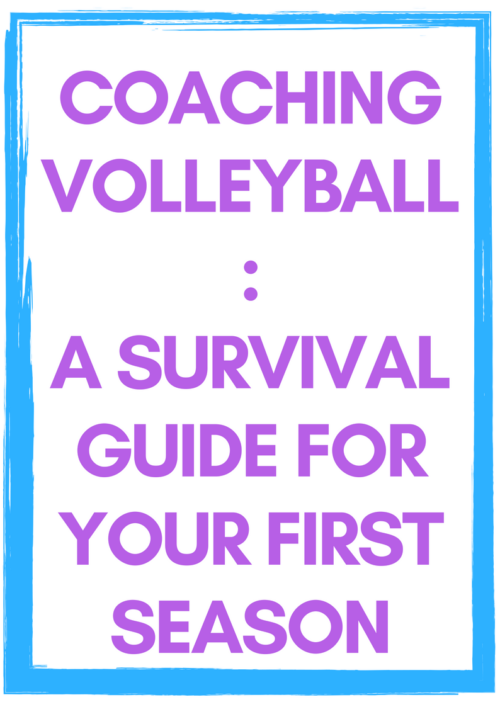 Great advice for new volleyball coaches starting their first season! You don't need volleyball drills, you need guidance!