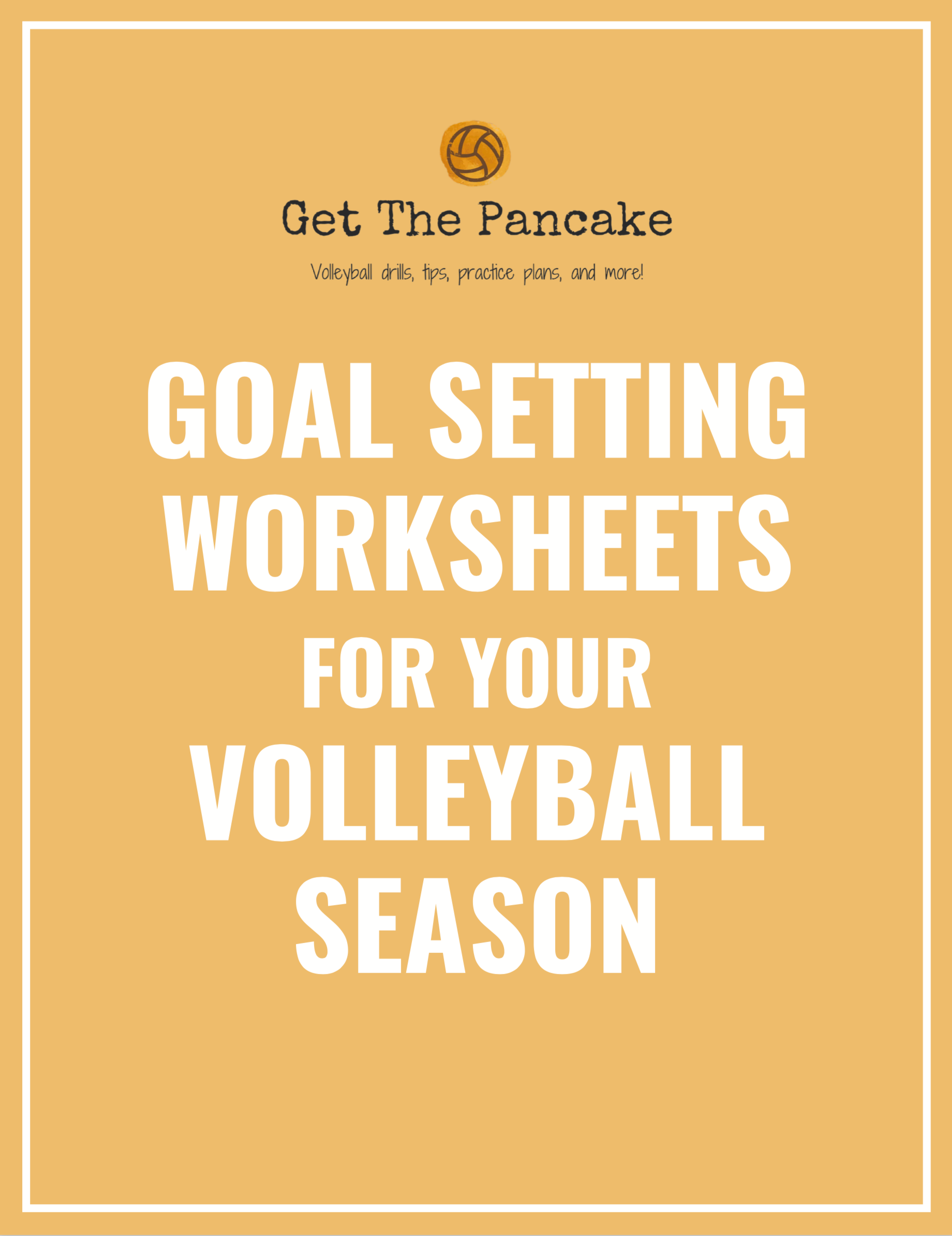BE THE COACH THAT PLAYERS REMEMBER. - Make a positive impact on your athletes by teaching them goal setting with these easy, printable worksheets.