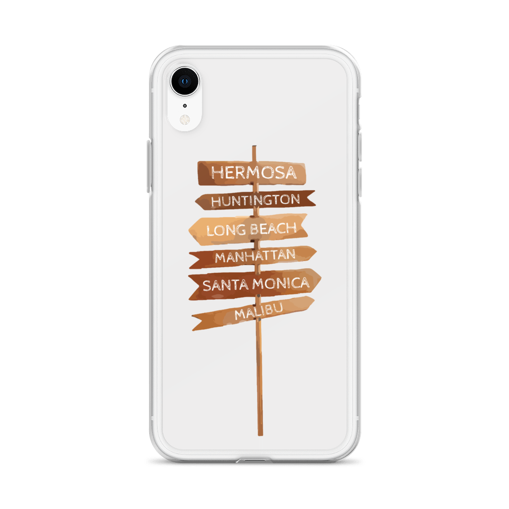 Cali Beaches Beach Volleyball iPhone Case in MARINE LAYER |    Shop Get The Pancake on Etsy!