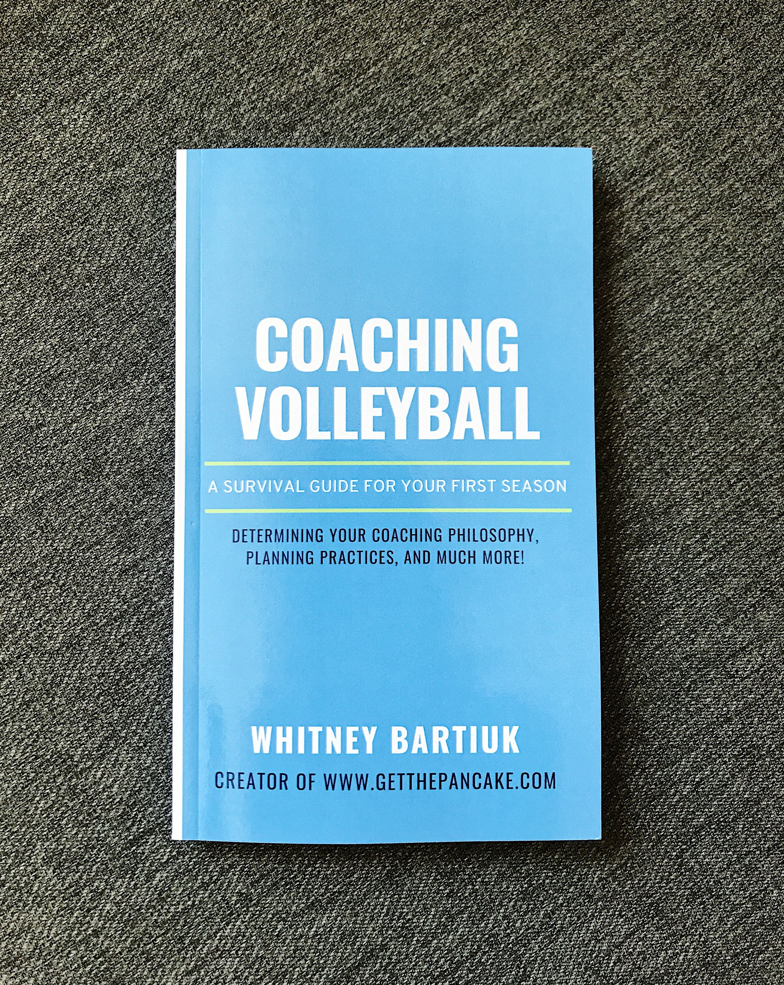 "Learn more about the coaching book which reached #6 on ""Amazon's Best Sellers"" list in the ""Volleyball"" category! - Available exclusively through Amazon."