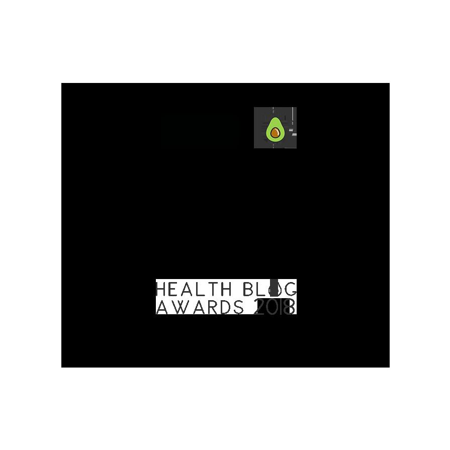 Health Blog Awards Shortlisted Badge 2018