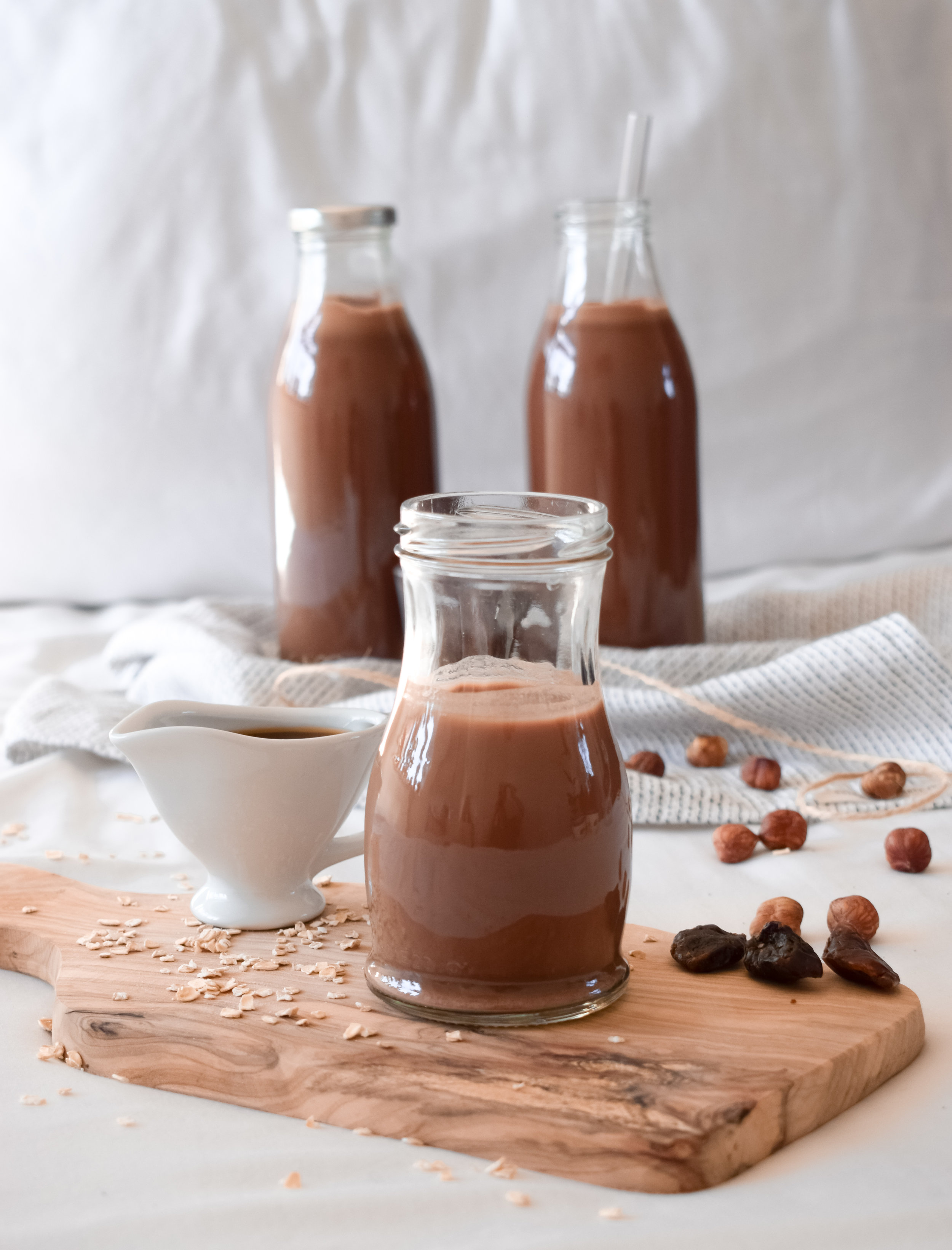 Chocolate Oat Milk by Ally The Earthling