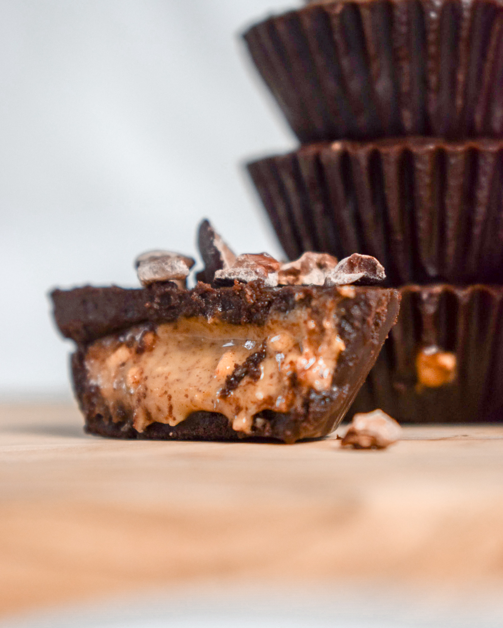 Plant-Based, Gluten-Free and Keto Peanut Butter Cups - Ally The Earthling