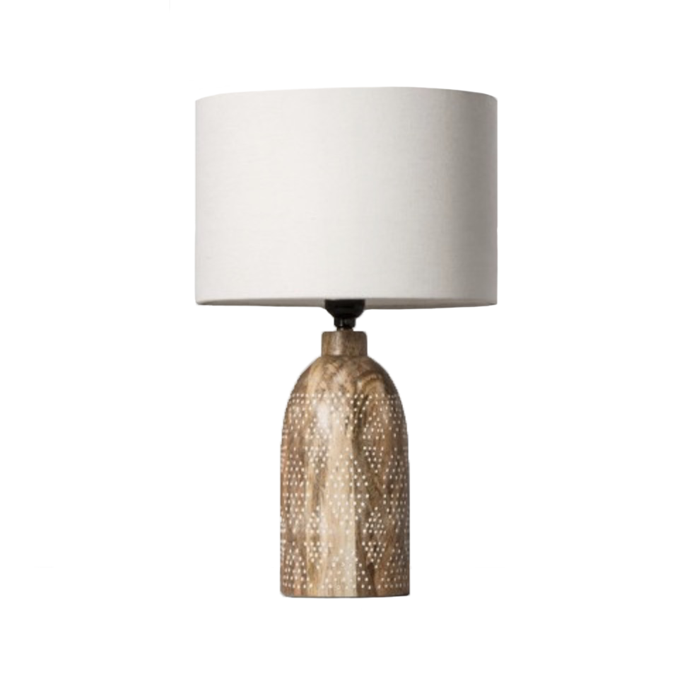 Opalhouse Carved Wood Dots Accent Lamp / Target
