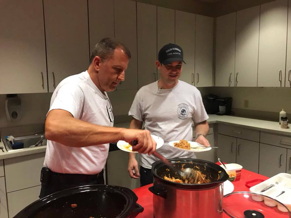 Palm Harbor's Fire Station 65 enjoyed some Southern Steer Butcher Crock Pot Meals. First Responders have our back everyday.