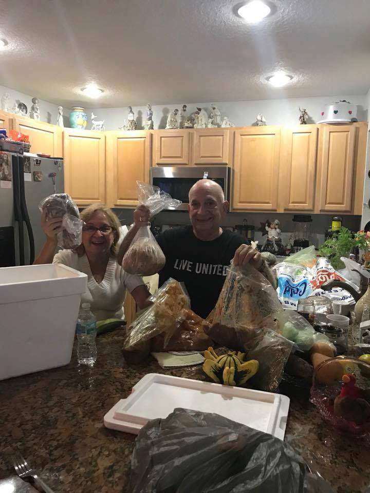 Meet Danilo Ramirez, the gentleman in Black. He was displaced to Florida from Puerto Rico after Irma. His family in Clearwater reached out to us to help him with some good meals. He needed to be relocated to receive treatment for medical conditions.