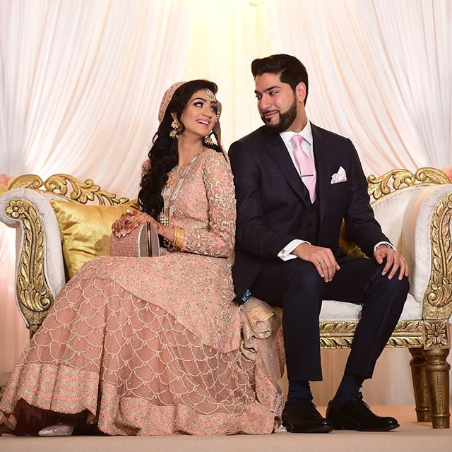 Over 6 months alhamdullilah with this one. Been an amazing journey so far and super grateful for it.  Going to our first wedding(s) tomorrow as husband and wife (yes 2 weddings in an evening). Seeing all the summer weddings got me reminiscing. Weddings  mark a milestone, they are full of emotion and sparkle but the real journey begins after. Always have each others back. Support and empower. Grateful to have someone who pushes me to do better. Thank you for everything.  Never posted a picture from our whalimah so here it is. At what point do I have to stop posting wedding related stuff? Still in the midst of post-wedding admin. 😂  Keep us in your duas and prayers. Always tie your camel and trust it to Allah SWT. Whatever is right for you won't miss you so just have that trust. #arfahamza #alhamdulillah #asianwedding #pakistanibrides