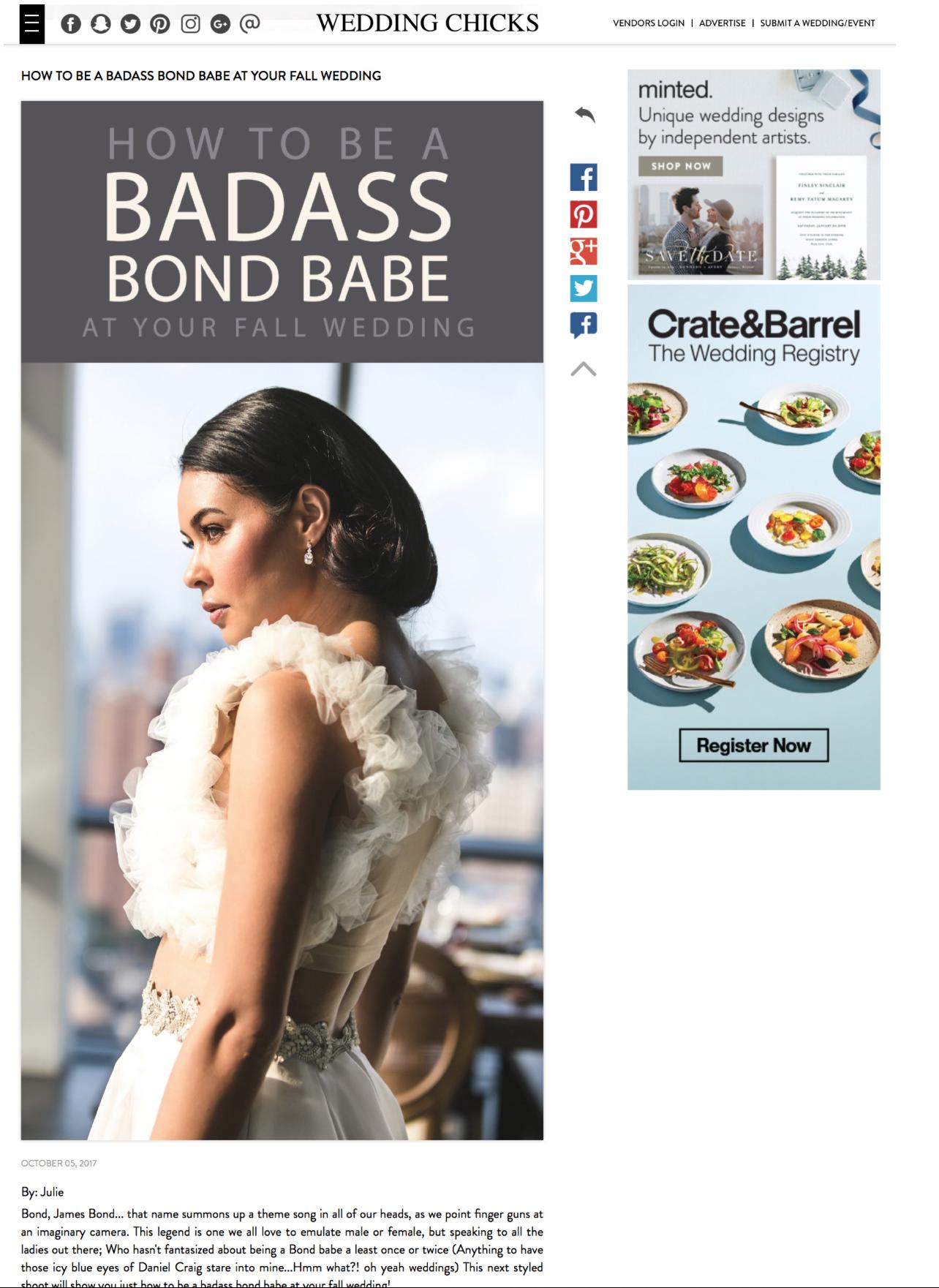 How to be a Badass Bond Babe