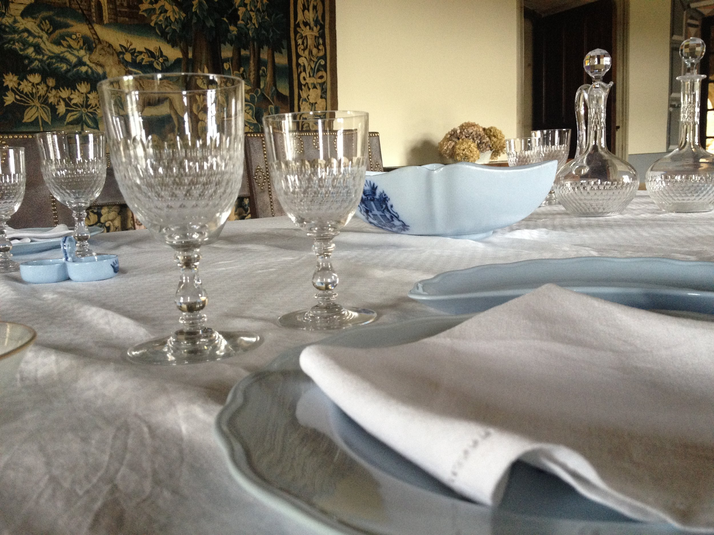 DINER A LA TABLE DU CHATELAIN