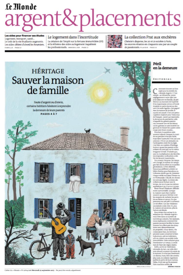 Le Monde, novembre 2017