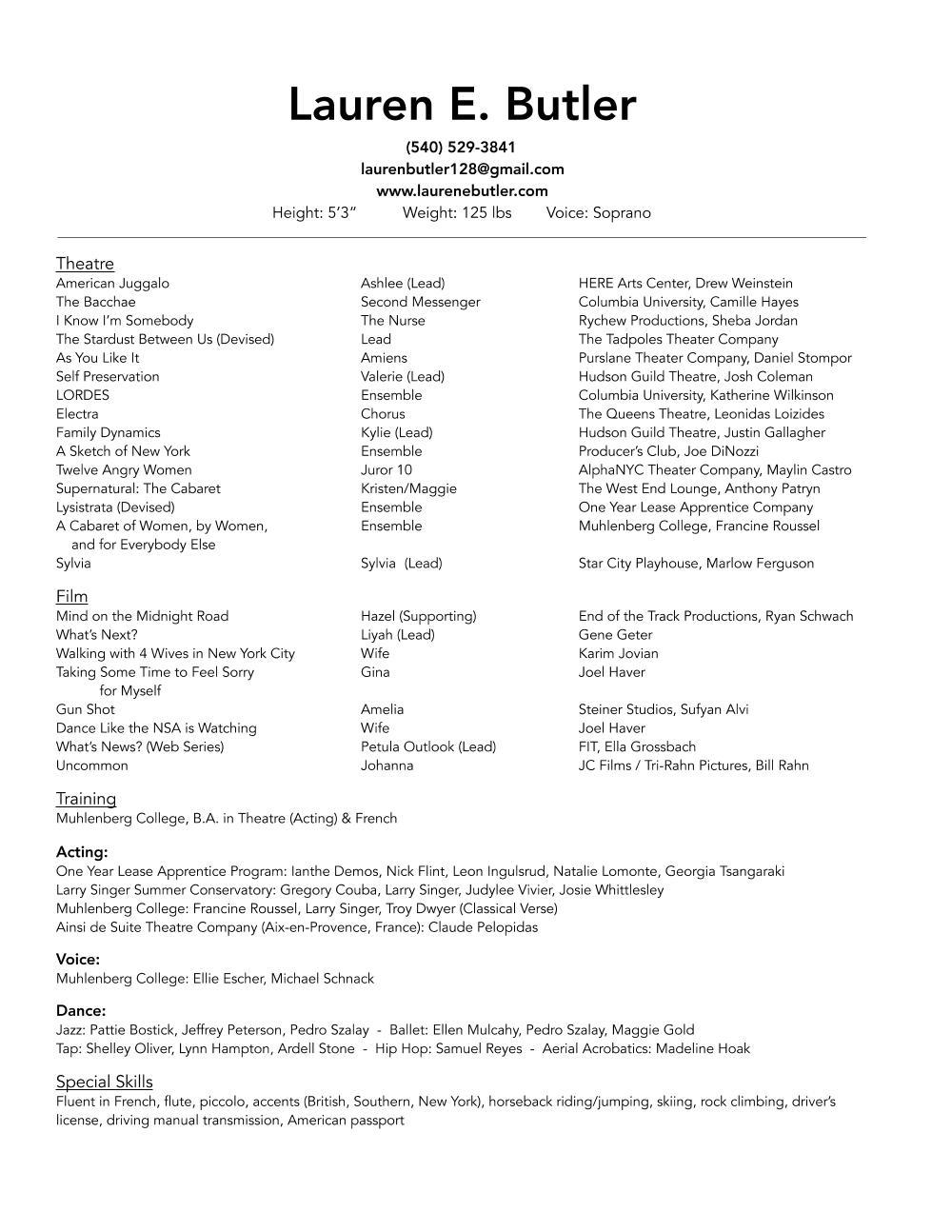 Lauren E. Butler - Acting Resume.jpg