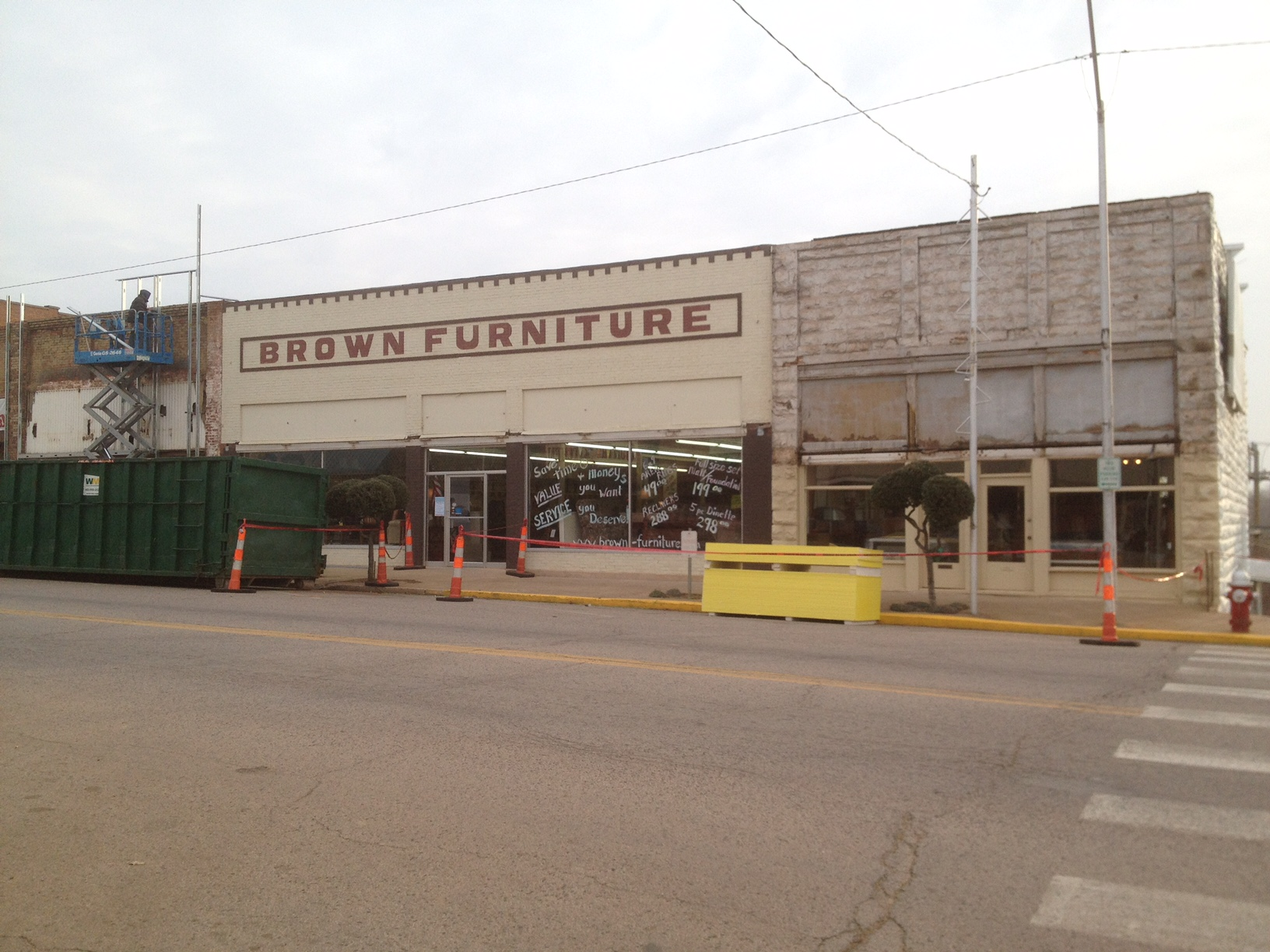 Commercial Storefront Chandler Oklahoma