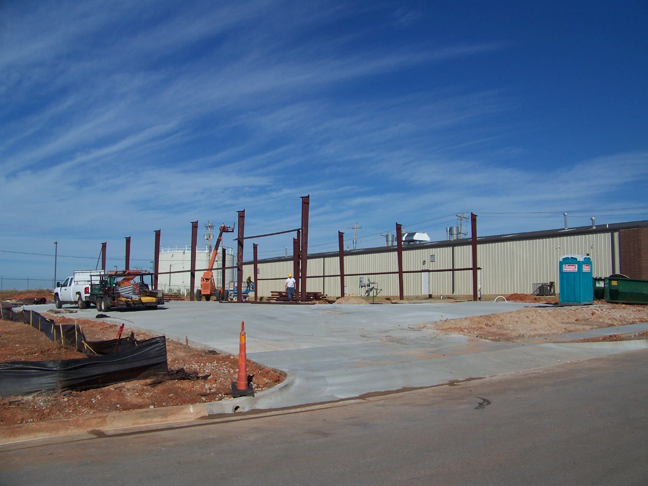 Industrial Warehouse Construction Steel Oklahoma City OKC
