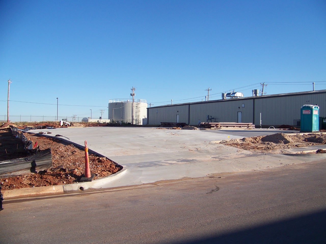 Industrial Warehouse Construction Concrete Oklahoma City OKC