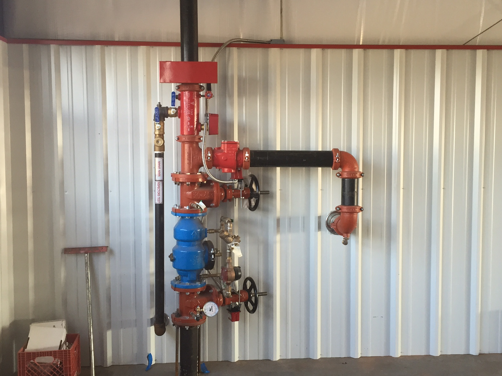 Fire Station Fire Suppression Sprinkler Safety Edmond Deer Creek
