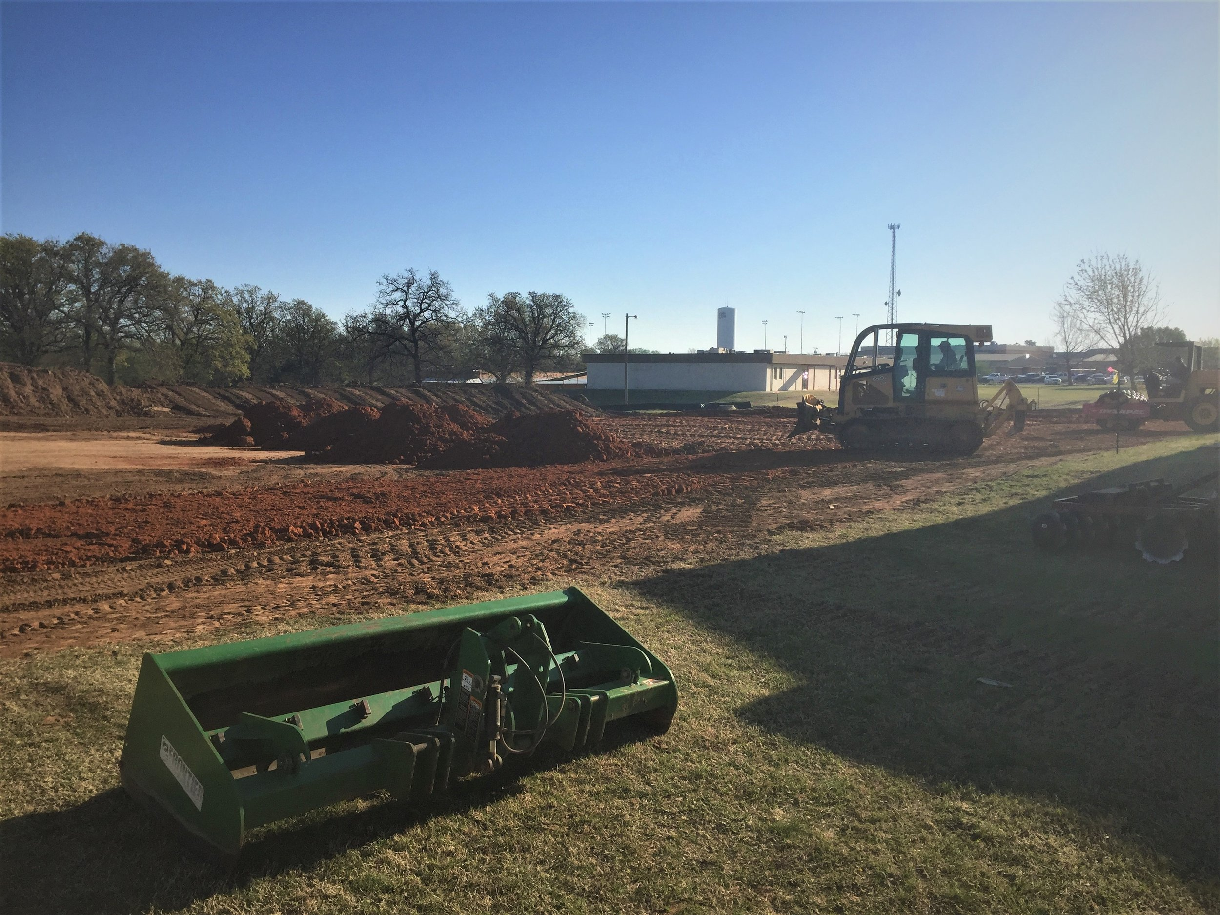 Heat Treatment Land preparation construction Oklahoma City OKC